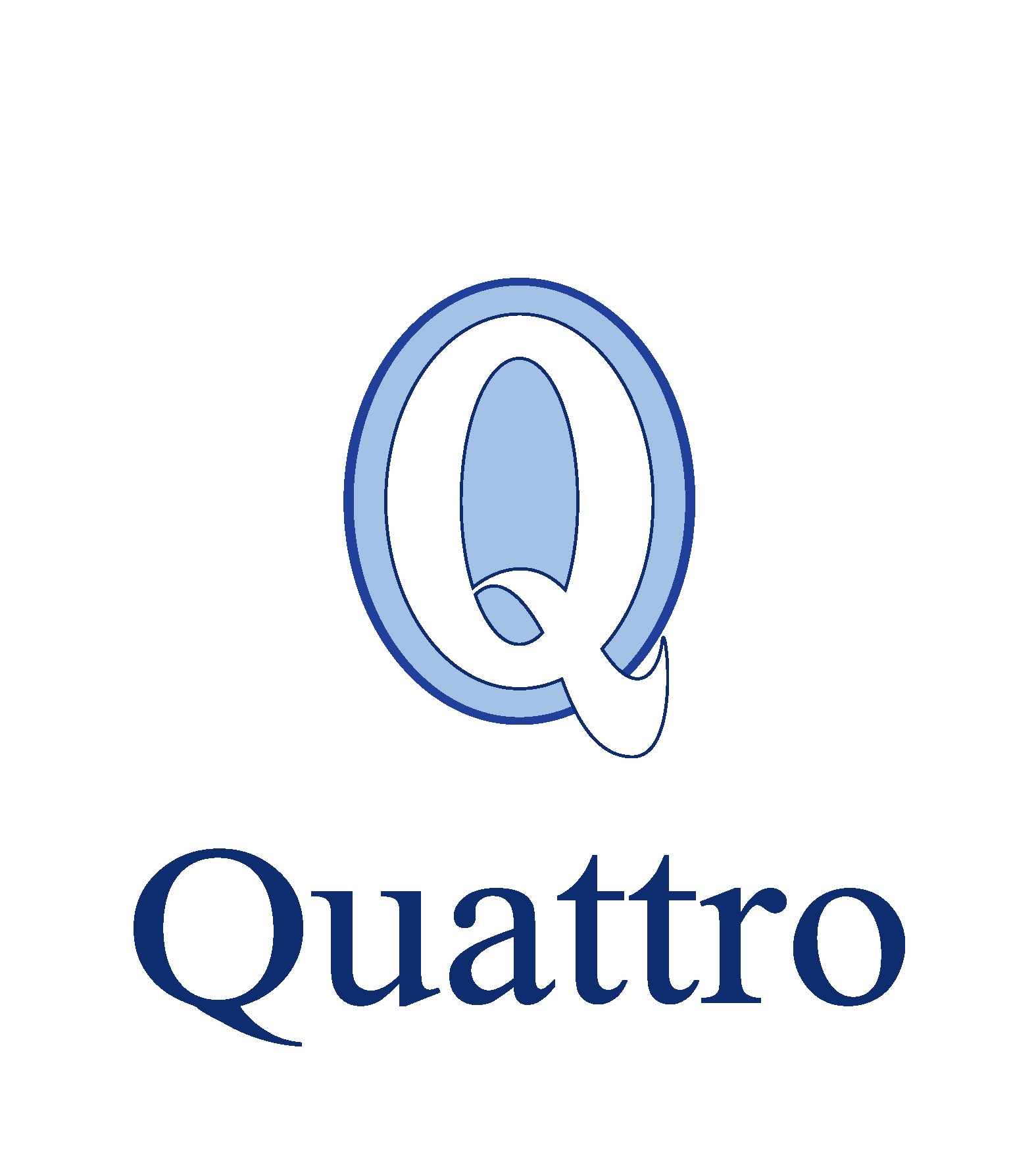 F.Quattro full colour logo white background - new entities WHITE